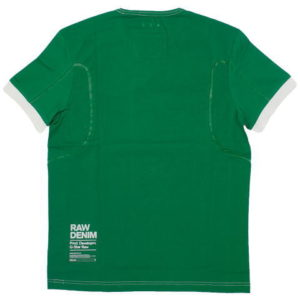 G-STAR STYLE:AIDEN R T S/S GREEN PEPPER COMPACT JERSEY