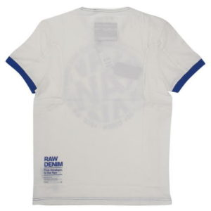 G-STAR STYLE:AIDEN R T S/S MILK COMPACT JERSEY