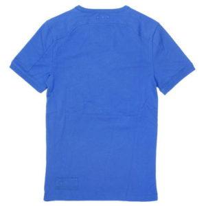 G-STAR STYLE:AARON R T S/S NASSAU BLUE COOL RIB