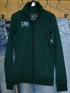 G-STAR STYLE:RISE CARDIGAN R T L/S PINE GREEN