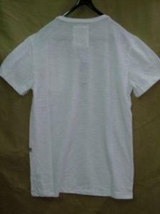 G-STAR RAW STYLE:Mazuren regular rt s/s white Jisoe jersey