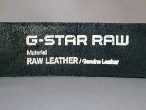G-STAR STYLE:WILLIS BELT BLACK