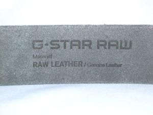 G-STAR STYLE:ZED BELT CASTOR