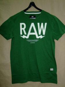 G-STAR RAW STYLE:Marsh rt s/s gurin green htr NY jersey