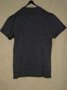 G-STAR RAW STYLE:Oranium rt s/s Black htr NY jersey