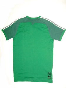 G-STAR STYLE:JAYDON R T S/S GREEN PEPPER MICRO 1 BY 1 RIB