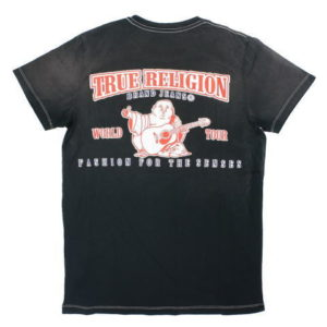 TRUE RELIGION STYLE:M648036B933C COLOR:BLACK SS CRW T HORSESH
