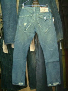 TRUE RELIGION MARCO BIG T STYLE:04846J COLOR:32-MED CLEAR WATER