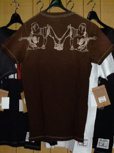 TRUE RELIGION STYLE:648036ZA COLOR:BROWN SS CREW NECK TEE