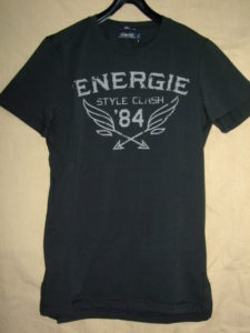 ENERGIE LANG T-SHIRT STYLE.5E1900 WASH.L00F90 ART.JE9B58 COL.G06001 OEU100
