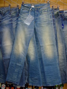G-STAR RAW STYLE:3301 LOOSE CYCLO STRETCH DENIM LIGHT AGED 29×34