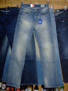 G-STAR RAW STYLE:3301 STRAIGHT MEMPHIS DENIM LT AGED T.P 29×34