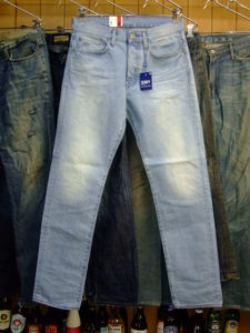 G-STAR RAW STYLE:3301 STRAIGHT WISK DENIM LIGHT AGED 30×32