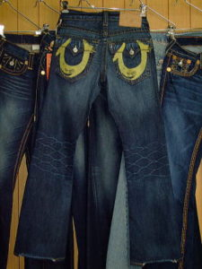 TRUE RELIGION BILLY YELLOW PAINTED STYLE:M242301H4 COLOR:2U-THE DUDE