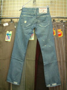 TRUE RELIGION BOBBY BIG T STYLE 04845 COLOR 32 MED CLRWTR