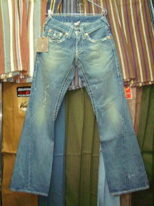 TRUE RELIGION BIG T STYLE:04844J COLOR:32-Med Clear Water