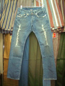 TRUE RELIGION MICKY BIG T STYLE:04849J COLOR:15-DESTROYED