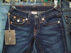 人気のジーンズ