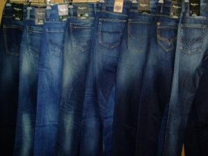 珍しいジーンズ売ってる店