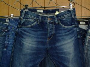 渋みのあるジーンズ