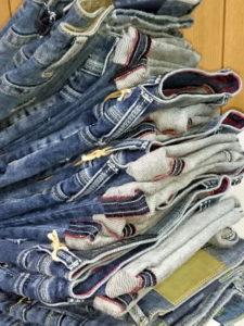 東京のジーンズショップ 種類