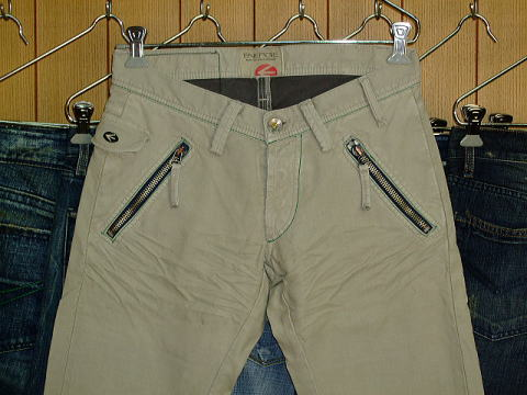 ENERGIE Joe Caputo trousers STYLE 9C6R SIZE WASH 38 ART.0433 COL.0995 MADE IN ITALY 100%COTTON