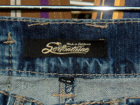 ジーンズ|SERFONTAINE HI WAY STAR JEAN R/S STYLE#G39508RR CUT# COLOR:ROADRUNNER