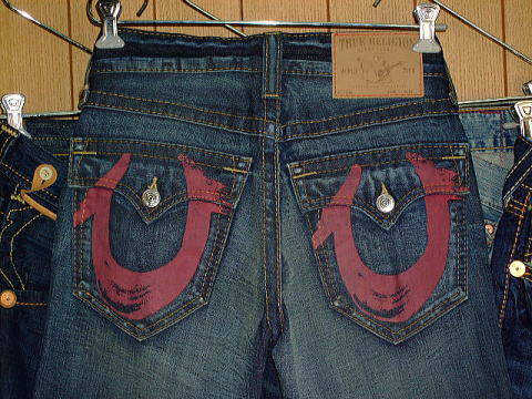 デニム|TRUE RELIGION BILLY RED PAINTED (0020)