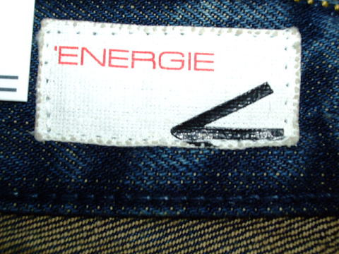 ENERGIE STRAIGHT MORRIS TROUSERS 34 STYLE 936R00 SIZE WASH.L00372 ART.DZ0504 COL.F09950 PRD384 MADE IN ITALY 100%COTTON