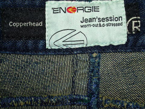 ENERGIE Copperhead trousers STYLE 9C46 SIZE WASH XR ART.0504 COL.0995 5901 MADE IN ITALY 100%COTTON