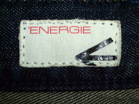 ENERGIE STRAIGHT MORRIS TROUSERS 34 STYLE 936R00 SIZE WASH.L000DZ ART.DY0476 COL.F09950 PRD2551 MADE IN ITALY 100%COTTON|ENERGIE エナジー