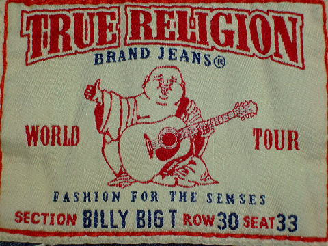 トゥルーレリジョン BIG T TRUE RELIGION BIG T