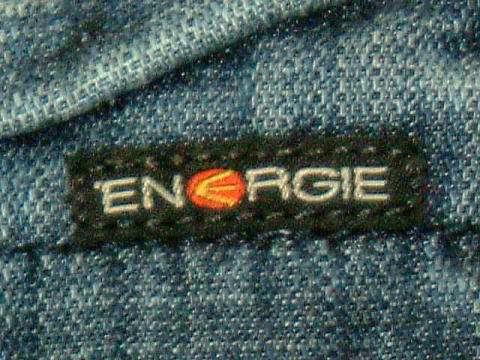 ENERGIE Jiammie trousers STYLE 9B91 SIZE WASH R2 ART.0355 COL.0995 6288 MADE IN ITALY 100%COTTON