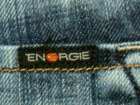 ENERGIE Stevenson trousers STYLE 9B18 SIZE WASH QL ART.0431 COL.0995 5413 MADE IN ITALY 100%COTTON