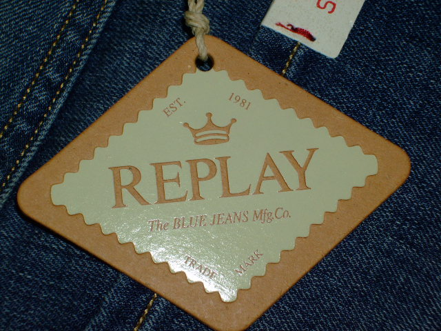 REPLAY ANBASS SLIM FIT JEANS SKINNY JEANS