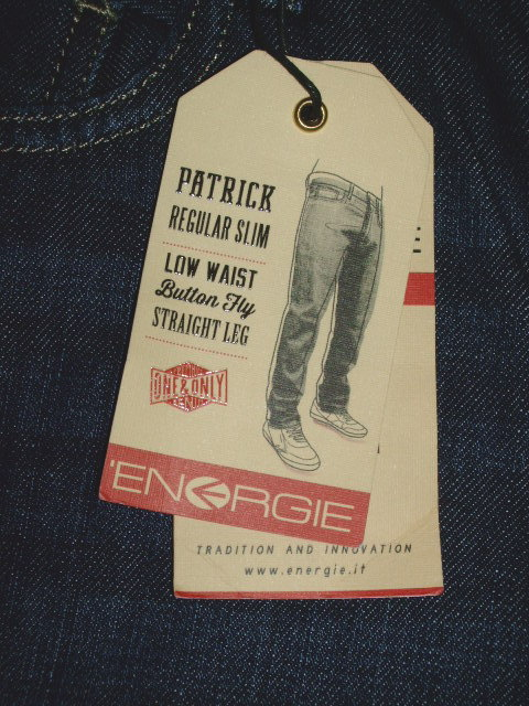 ENERGIE PATRICK TROUSERS 32 STYLE.9T3S13 SIZE. WASH.L01733 ART.DY9826 COL.F09950 OEU71 100%COTTON MADE IN TURKEY
