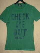 ENERGIE LOPEZ T-SHIRT STYLE.5E0100 SIZE.S WASH.L0010H ART.JE9B40 COL.E03292 OEU63 100%COTTON MADE IN TURKEY
