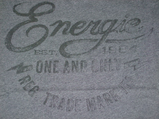 ENERGIE GATEPOST T-SHIRT STYLE.5D5900 SIZE.M WASH.L0010H ART.JE1873 COL.I07200 OEU210 100%COTTON MADE IN CHINA
