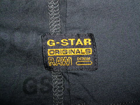 G-STAR T SHIRT STYLE:US R T S/S BLACK COMPACT JERSEY