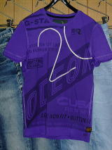 G-STAR T SHIRT STYLE:ODEON R T S/S PULPE COMPACT JERSEY