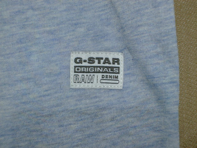 G-STAR RAW STYLE:Brickal vt s/s ART:D01317 2757 1099 COLOR:sea htr FABRIC:NY jersey