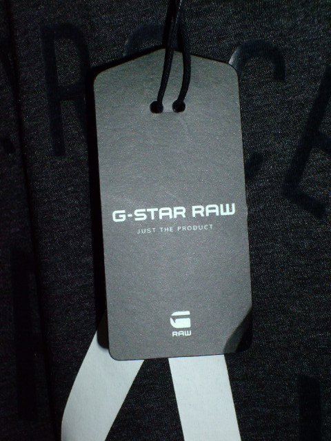 G-STAR RAW STYLE:Gelph rt s/s ART:D01656 2757 390 COLOR:black htr FABRIC:NY jersey