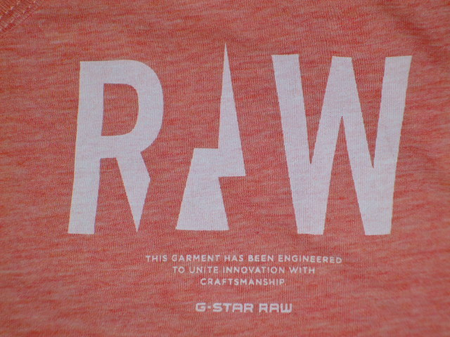 G-STAR RAW STYLE:Brickal vt s/s ART:D01317 2757 2129 COLOR:flame htr FABRIC:NY jerser