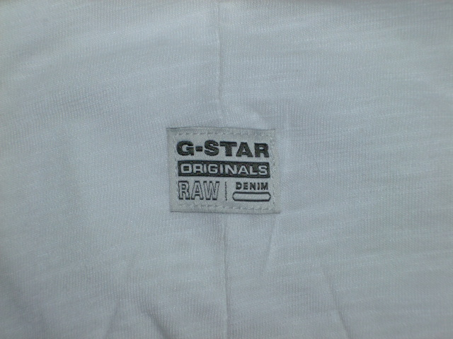 G-STAR RAW STYLE:Mazuren regular rt s/s ART:D00594 4834 110 COLOR:white FABRIC:Jisoe jersey