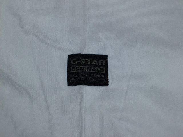 G-STAR RAW STYLE:Codar 2 rt s/s ART:D01536 336 110 COLOR:white FABRIC:Compact jersey