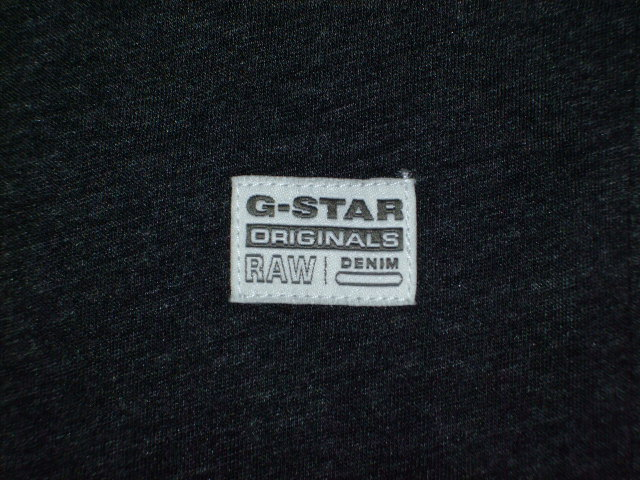 G-STAR RAW STYLE:Rightrex rt s/s ART:D01329 2757 390 COLOR:Black htr FABRIC:NY jersey
