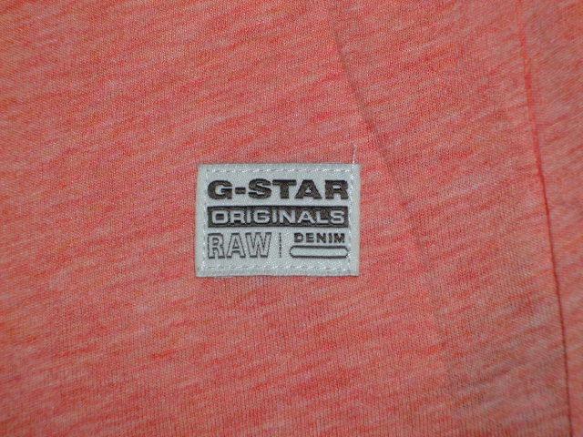 G-STAR RAW STYLE:Rightrex rt s/s ART:D01329 2757 2129 COLOR:flame htr FABRIC:NY jersey