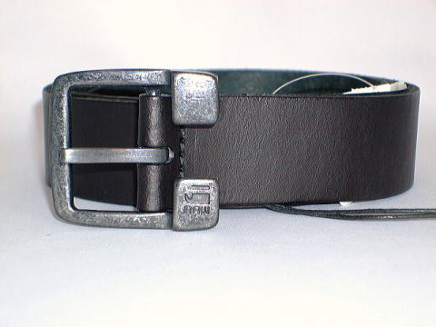 G-STAR BELT STYLE:WILLIS BELT BLACK NEVADA LEATHER