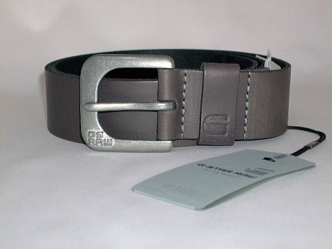 G-STAR BELT STYLE:ZED BELT CASTOR NEVADA LEATHER