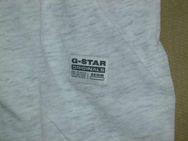 G-STAR RAW STYLE:Gelph rt s/s ART:D01656 2757 971 COLOR:milk htr FABRIC:NY jersey
